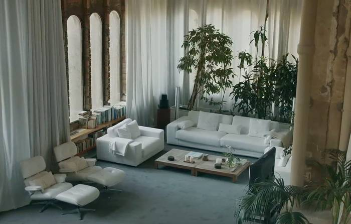 ricardo bofill 39 s house by albert moya nowness. Black Bedroom Furniture Sets. Home Design Ideas