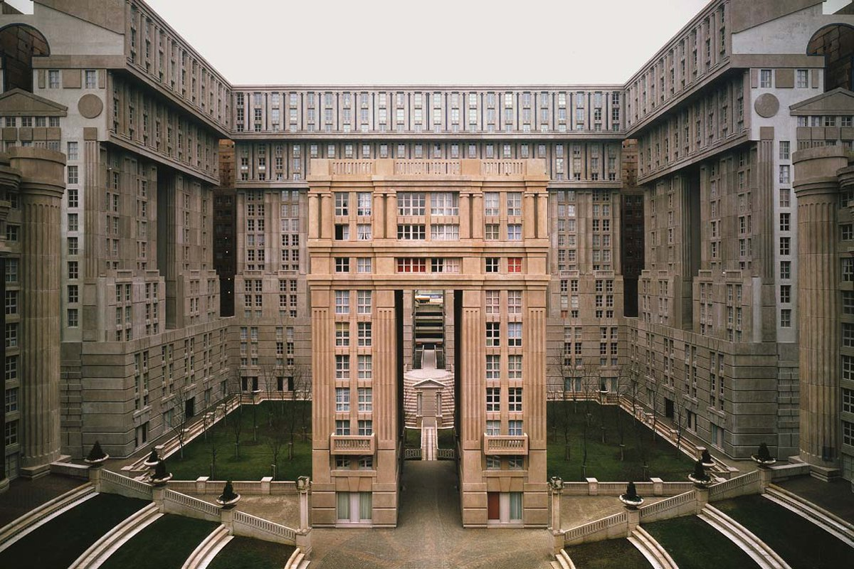 Ricardo bofill the future of the past nowness for Architecture noisy le grand