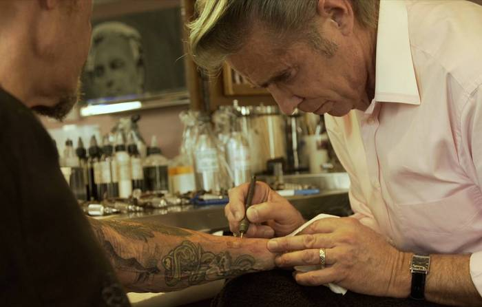 Mark Mahoney Tattoo