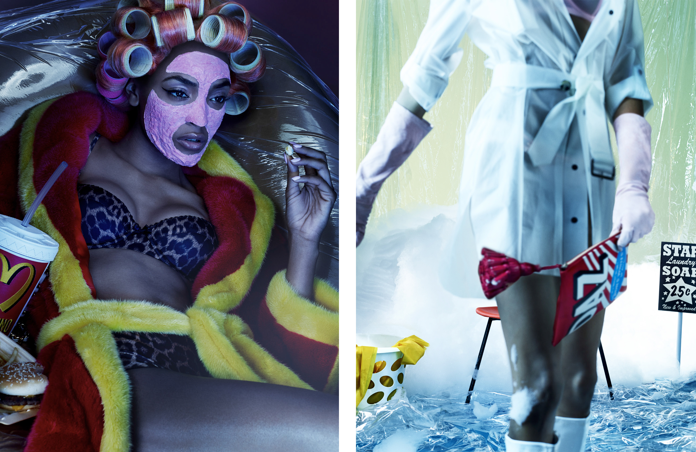 Jourdan Dunn Fashion Shoot By Garage Magazine Nowness